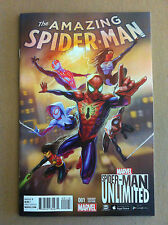 AMAZING SPIDER-MAN V.4 #1 UNLIMITED GAME VARIANT COVER 1:10 NM NEAR MINT 2015