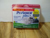 Petarmor Plus 6 Applications only for Cats & Kittens over 1.5 lbs New Sealed