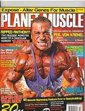 PLANET MUSCLE bodybuilding magazine/ANTHONY PASQUALE 3-13