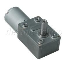 DC12V Gear Box Reversible Electric Worm Reduction Motor 150RPM CW CCW
