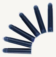 Short Black Universal Standard Ink Cartridges Pack of 50 For Fountain Pens