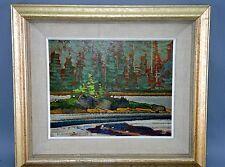 Abstrakte künstlerische mit Öl-Technik von 1950-1999
