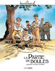 BD - LA PARTIE DE BOULES / PAGNOL, SCOTTO, STOFFEL, GRAND ANGLE, BAMBOO