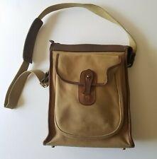Vintage Ghurka No 4 Marley Hodgson Gearpack Leather Canvas Crossbody Bag