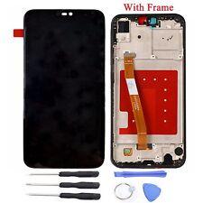 Pantalla LCD + Pantalla Táctil Digitalizador con marco por Huawei P20 Lite Negro