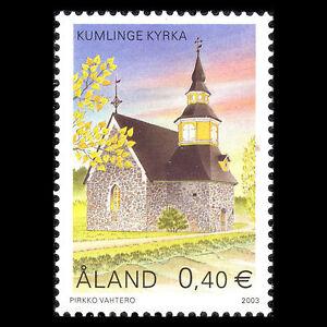 Aland 2003 - Church of Kumlinge Architecture - Sc 196 MNH