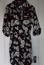Missguided shirt dress size 8 festivals summer vgc