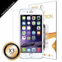 """iPhone 6 4.7"""" Screen Protector 3x Anti-Scratch HD Clear Cover Guard Shield Saver"""