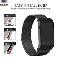 Magnetic Milanese Loop Stainless Band For Garmin vivoactive HR GPS Smart Watch