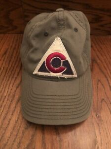 Colorado Avalanche NHL Reebok Face Off Green Baseball Cap Hat Men's One Size