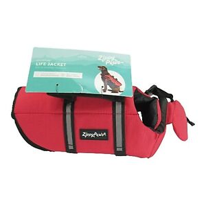 Zippy Paws Adventure Life Jacket for Dogs NEW Size XS Red Floatation Device