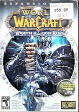D6 World of Warcraft Expansion Set Wrath of the Lich King 2008 RRP. $59.95