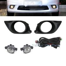 Fog Light Driving Lamp Cover+Wiring+Switch for Nissan Versa Sunny 2011-2012