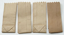 Miniature Dollhouse Set of 4 Paper Grocery Bags 1:12 Scale New