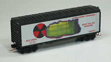 Micro-Trains MTL N AEC Atomic Energy Co Fuel Rod Transport  SPECIAL RUN 08-14