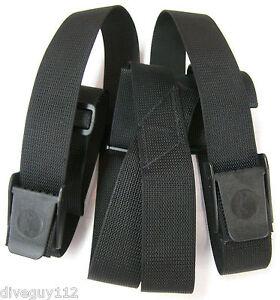 Weight Belt Suspenders Scuba Diving Dive Equipment  New WB80 Black