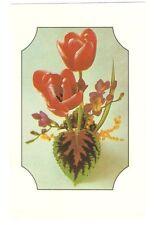 Estampado schiebebild flores-primavera tulipanes-mot. sb 1 2859, RDA