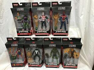 Marvel Legends SANDMAN BAF Lot of 7 SPIDER-MAN GREEN GOBLIN JACKAL SHOCKER NIB