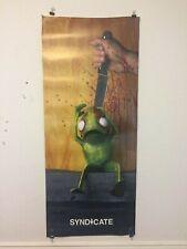Syndicate Skateboarding Skateboard Poster on Metromark Transit Graphics Vinyl