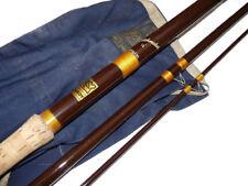 Hardy Matchmaker 13' vintage fibreglass float fishing rod c 17970 with bag