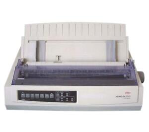Oki Microline ML3321 9-Pin Wide Carriage Dot Matrix Printer - Par USB GE7100B