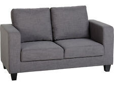 Seconique Tempo 2 Seater Sofa in a Box - Grey Fabric Settee