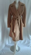 DAKS BELTED WINTER WOOL AND CASHMERE BLEND COAT SZ 14