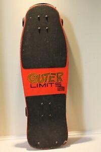 Vintage VARIFLEX OUTER LIMITS Skateboard