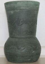 Green Ceramic European Art Pottery Vases