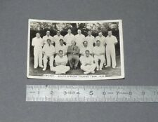 CRICKET CIGARETTE CARD SPORTING EVENTS & STARS 1935 TEAM SOUTH AFRICA