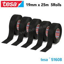 Tesa 51608 PVO Soft PET Fleece Tape 19 mm X 25 m Roll for Flexibility 5 Pcs Pack