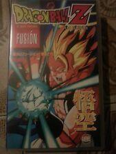 Pelicula Dragon Ball Z- Fusión Anime VHS Manga Films edición española