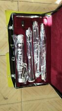 New Maple wood Body Silver Plated professional wood basson/bassoon