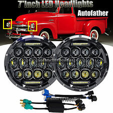 "For Chevrolet CHEVY PICKUP 1947-1957&1962-1972 LED Headlight Hi/Low Beam Lamp 7"""