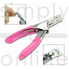 PRO NAIL CLIPPER CUTTER 3 WAY FALSE FAKE ACRYLIC MANICURE ART UV GEL TIP SALON