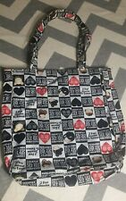 Harajuku Lovers Large Tote Bag Roomy Book Bag fatal attraction to cuteness love