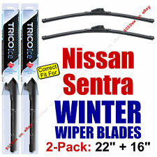 WINTER Wipers 2-Pack Premium Snow Ice - fit 2000-2002 Nissan Sentra - 35220/160