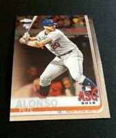 C49 PETER PETE ALONSO METS ROOKIE CARD #52 RC SP 2019 TOPPS CHROME UPDATE