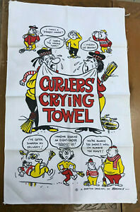 Curlers' Crying Towel Barton by Banks Sport Curling Gag Gift Kitchen Tea Cloth