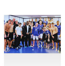 Duncan Ferguson Signed Everton Photo - Duncan Ferguson Testimonial Autograph