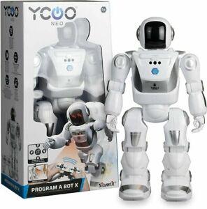 YCOO NEO ROBOT Program A Bot X Remote Contol Robot Toy RC NEW SILVERLIT
