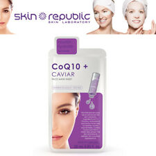 Skin Republic Nourish Hydrate CoQ10 + Caviar Anti Redness Cara Mask Sheet 25ml