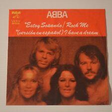 """ABBA - I HAVE A DREAM/ESTOY SONANDO - 1979 MEXICO 7"""" SINGLE SPANISH VERSION"""