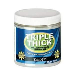 Triple Thick Brilliant Brush-On Gloss Glaze 8Oz/236ml