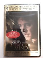 A Beautiful Mind (DVD, 2002, 2-Disc Set, Limited Edition Packaging Full Frame...