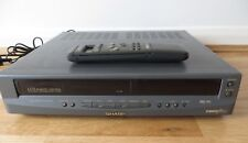 SHARP VHS Video Cassette Recorder Player Original remote plus vc-a46hm working