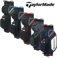 TAYLORMADE PRO SERIES PRO 8.0 14 WAY DIVIDER GOLF CART TROLLEY BAG / NEW 2020