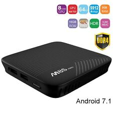 2017 M8S Pro Android 7.1 4K Smart TV BOX 3GB 16GB Amlogic S912 Octa Core Wifi