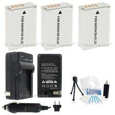 3x EN-EL22 Battery + Charger + BONUS for Nikon 1 J4, nikon 1 S2
