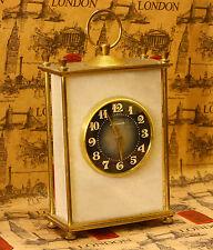 Rare USSR (Soviet) Molnija mantel clock. Natural stone - marble (quantum quartz)